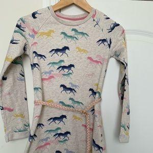 Sweater Dress -Horses